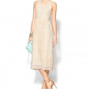 Anthropologie Sunday In Brooklyn Lace Midi Dress M